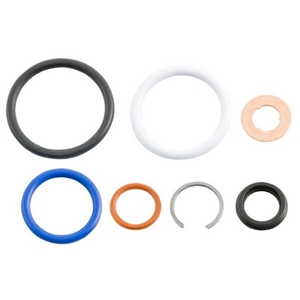 Ford 6.0L Injector Seal Kit 6.0, seal kit, combustion seal, o-rings, retaining clip, 6.0 injector